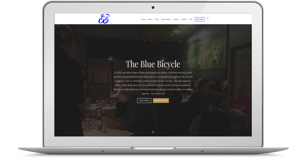 Blue Bicycle Bistro Desktop